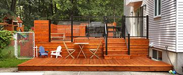 Toutes les r alisations de patio design - Idee de patio en bois ...