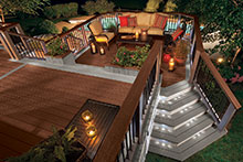 Patio Lighting by Patio Design inc.