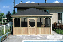 Gazebo by Patio Design inc.