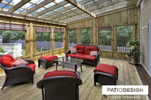 Gazebos and 3 Seasons by  Patio Design
