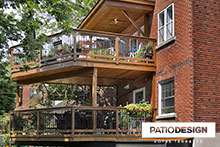2 stories Balconies by Patio Design inc.